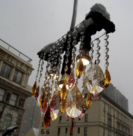outdoor collection; outdoor lighting; Modern chandelier; modern lighting; crystal; brass; sparkly; lighting; chandelier
