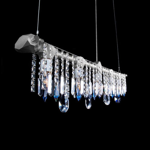 Bryce Linear Chandelier - unique artistic lighting from Michael McHale Designs