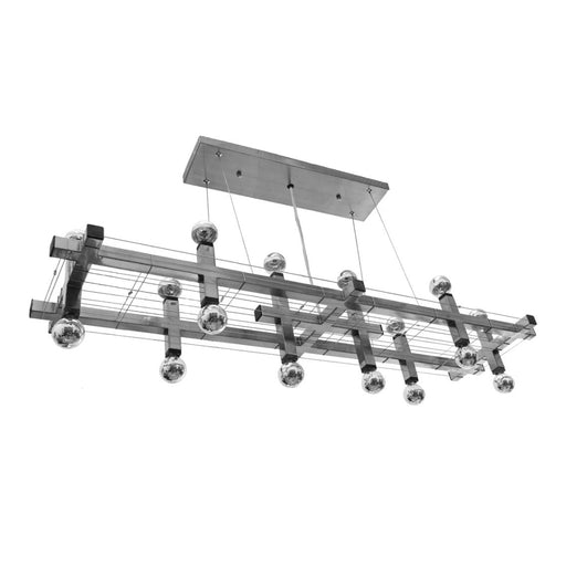 Matrix Modular Linear Suspension - Unique Artistic industrial chic modern chandeliers and lighting from Michael McHale Designs