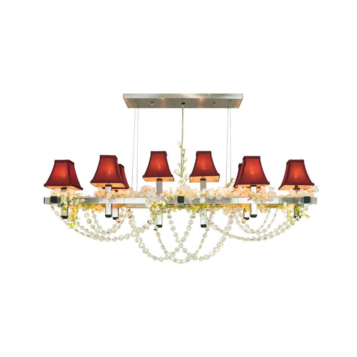 Matrix Plaza Linear Suspension Chandelier