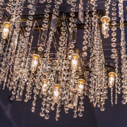 Tribeca Beacon Chandelier - unique artistic lighting from Michael McHale Designs