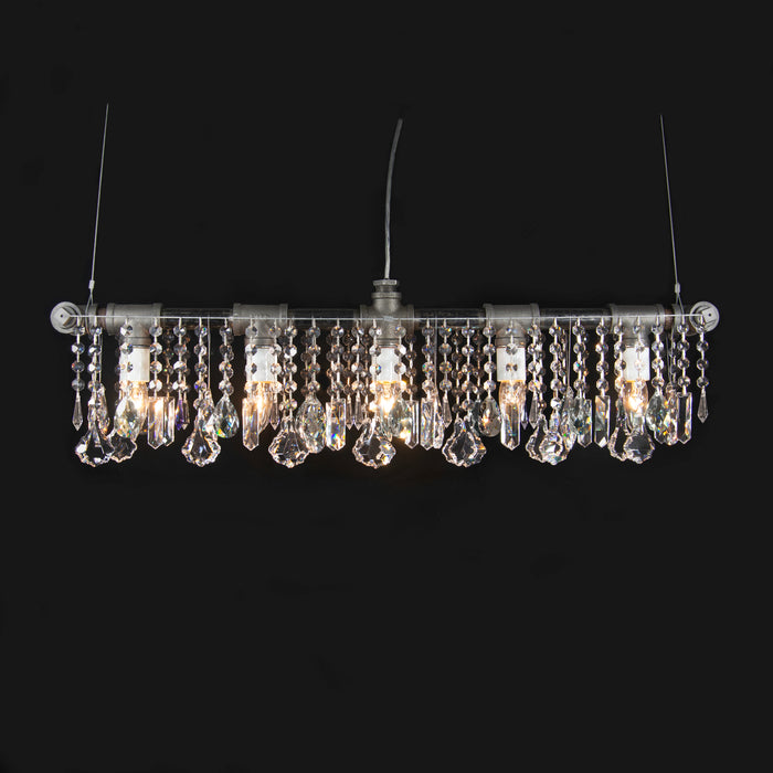 Industrial Bar Chandelier Linear Suspension
