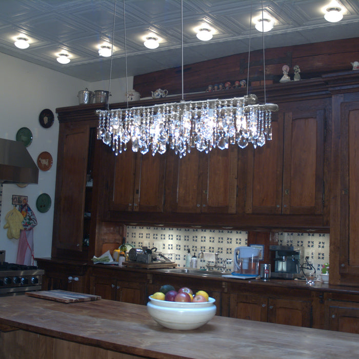 Industrial Banqueting Linear Suspension Chandelier