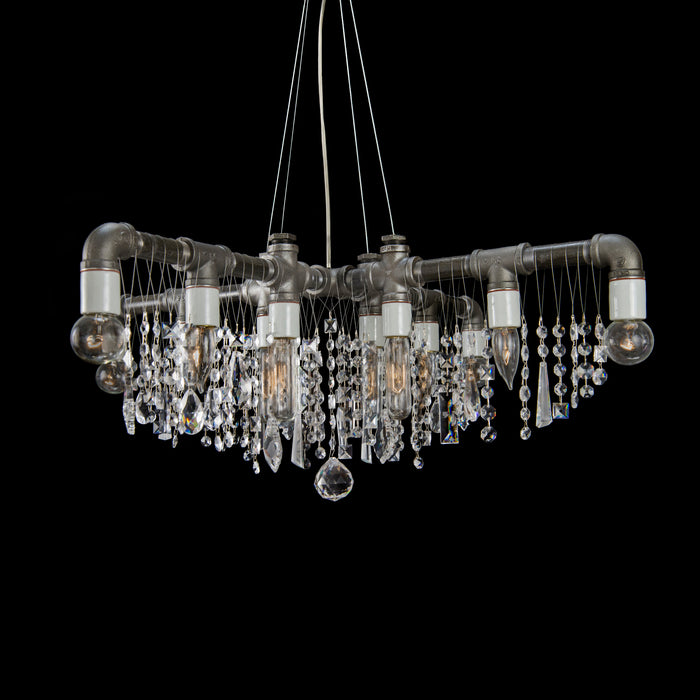 Industrial X-Chandelier