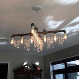 Industrial collection; Modern chandelier; modern lighting; swarvoski; brass; sparkly; lighting; chandelier