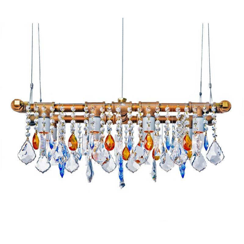 Industrial Swarovski Mini-Banqueting Chandelier