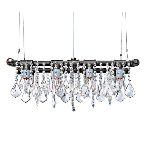 Industrial Mini-Banqueting Chandelier - unique artistic lighting from Michael McHale Designs