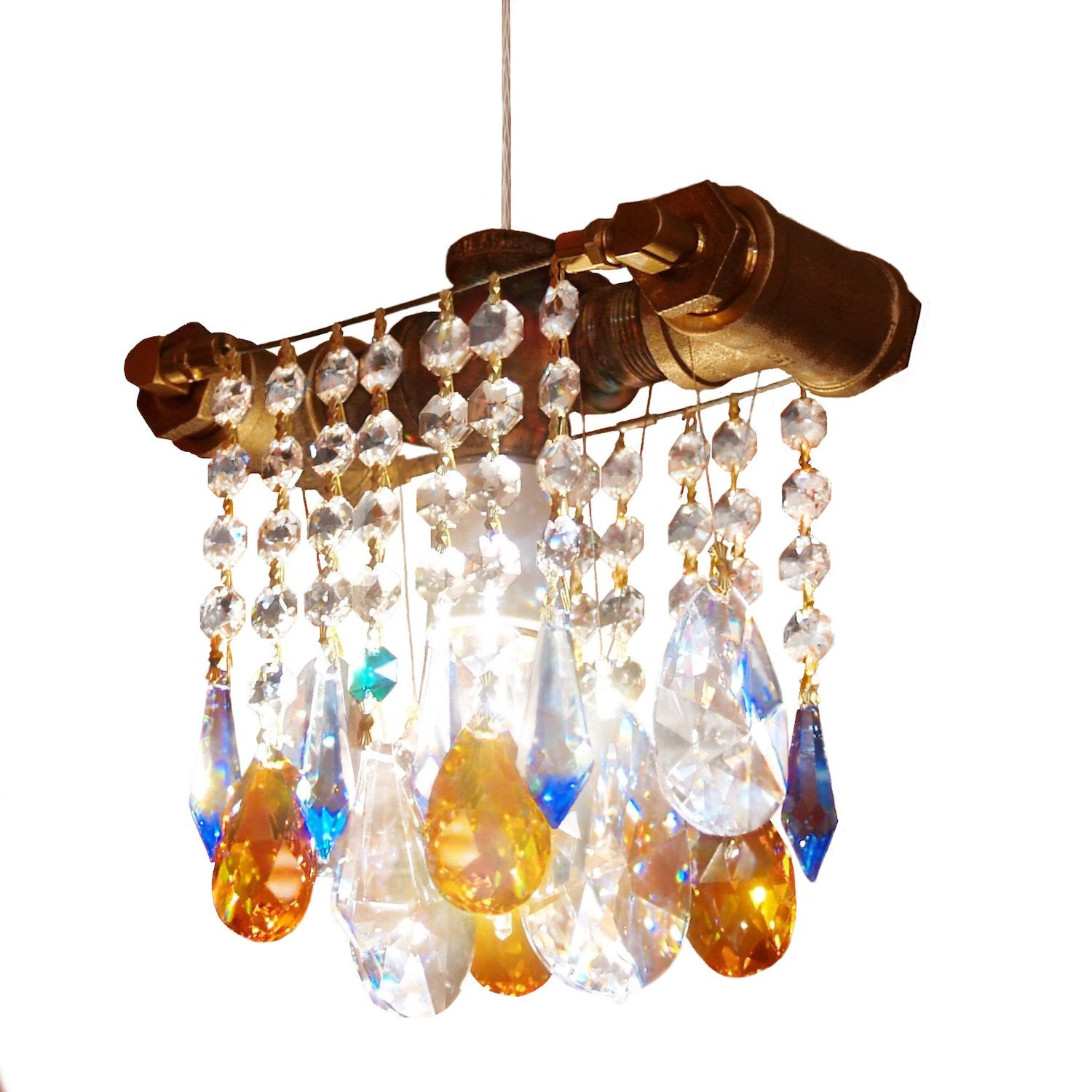 Industrial single bulb chandelier pendant industrial collection single bulb pendant arubaitofo Image collections