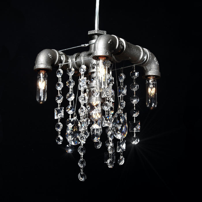 5 bulb chandelier pendant lighting