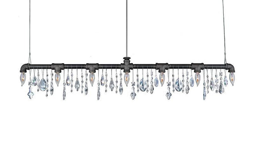 Tribeca 7-Bulb Bar Chandelier - Michael McHale Designs