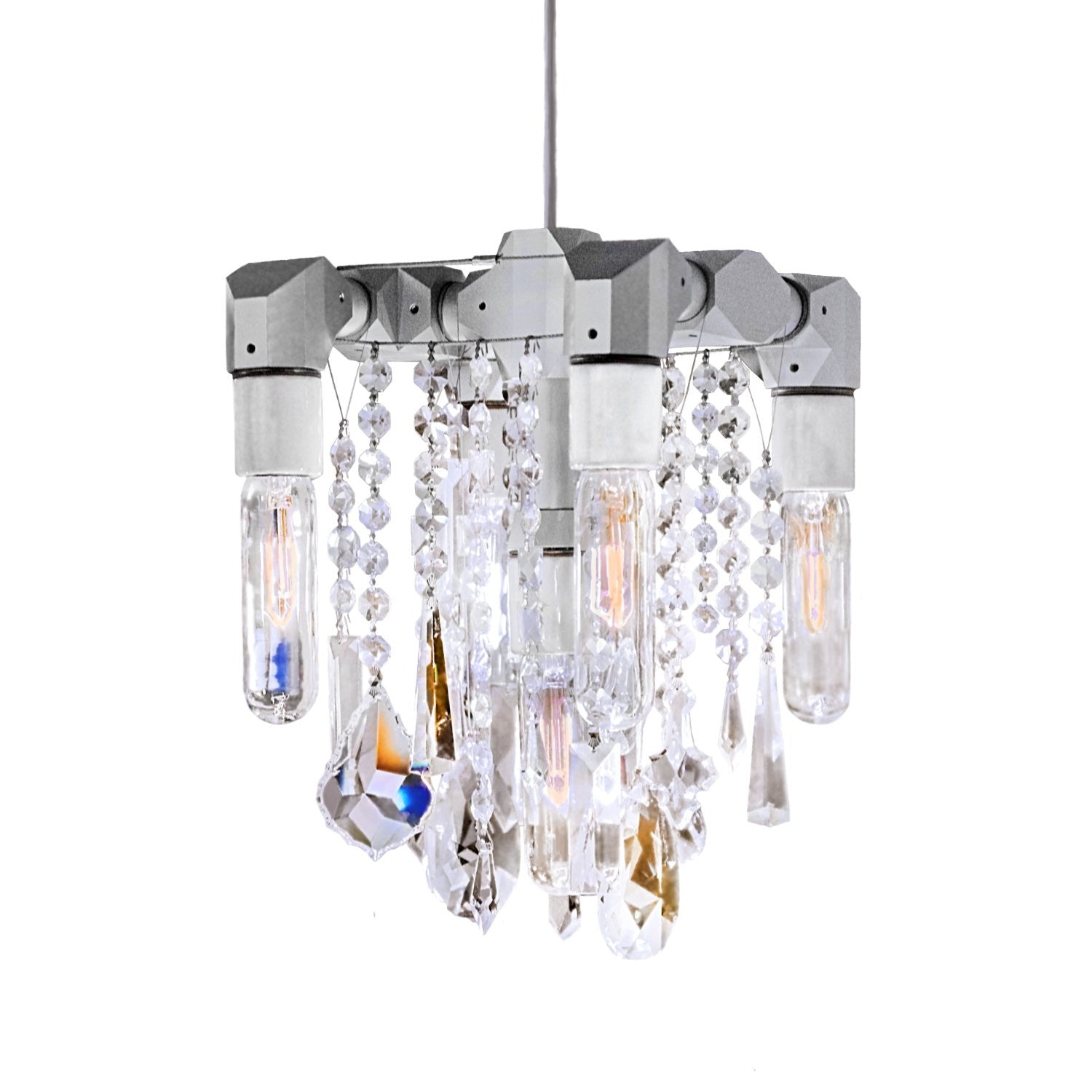 Collection Five Bulb pact Chandelier Pendant