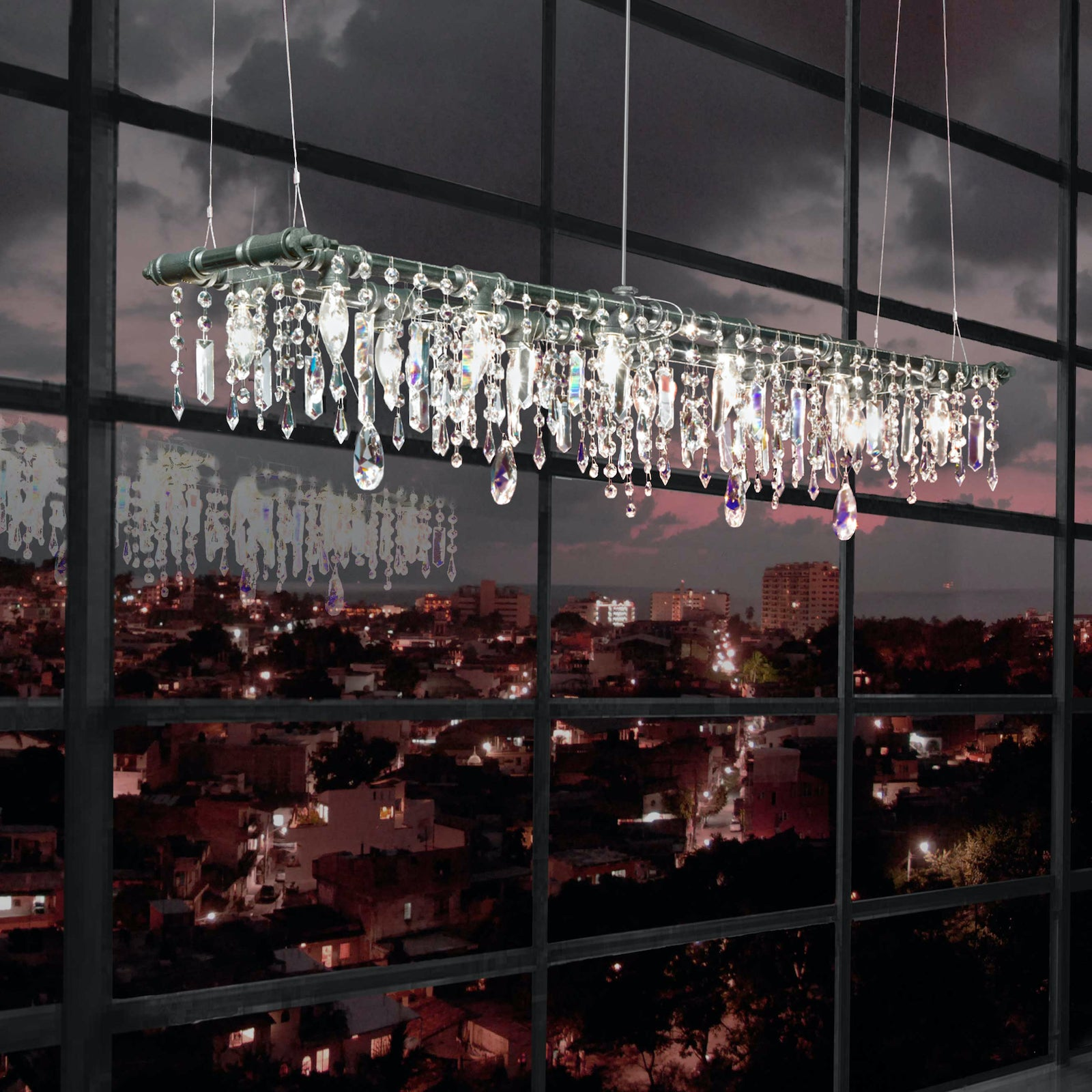The Tribeca Banqueting Chandelier