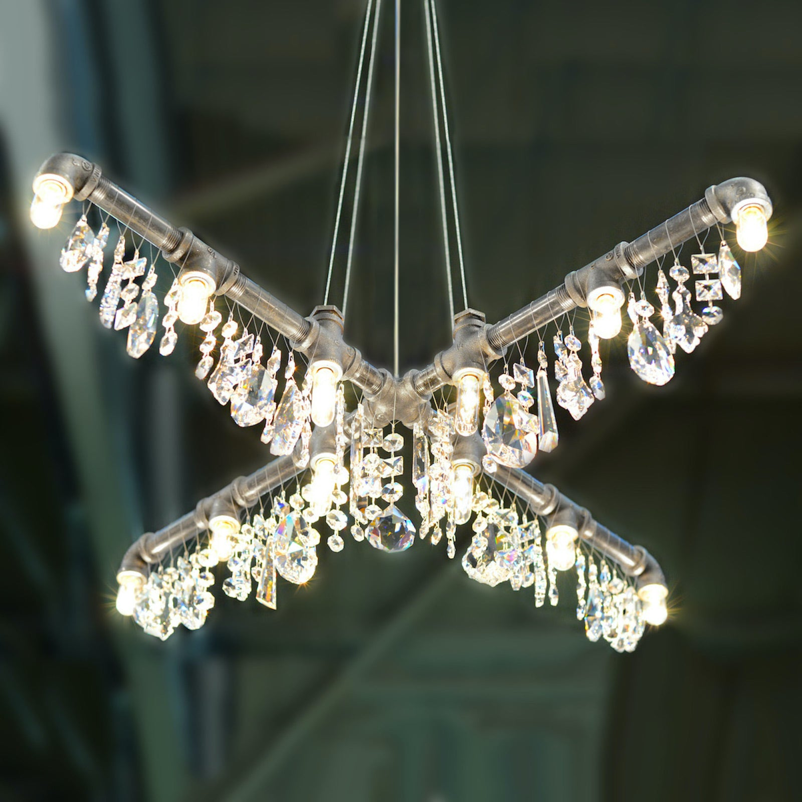 The Tribeca X-Chandelier Pendant