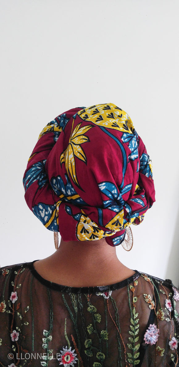 Pina Pineapple Head Wrap
