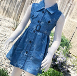 Sassy Denim Dress