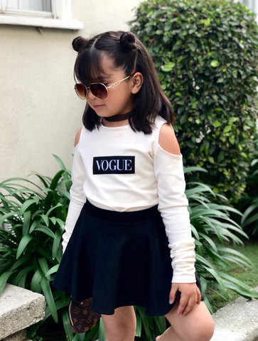 Off Shoulder Vogue Sweater