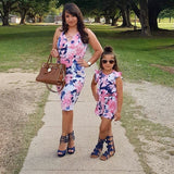 "Floral Splash ""Mommy & Me"" Dress & Romper"