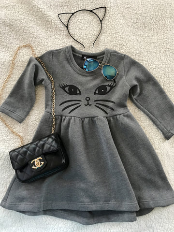 Kitty Whiskers Soft Dress