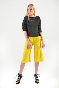Cheerful Culotte(57796) - Yellow