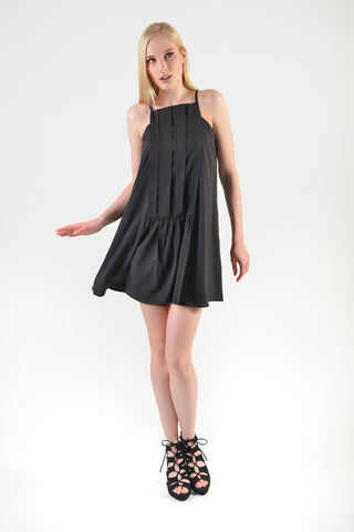 Hayami Spag Dress Black (77782)