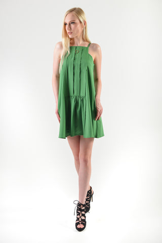 Hayami Spag Dress Green (77782)