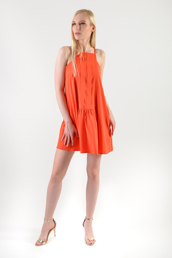 Hayami Dress(77782) - Orange