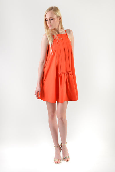 Hayami Spag Dress Orange (77782)