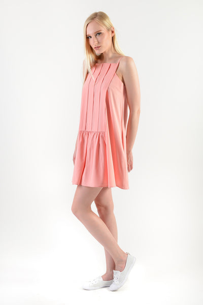 Hayami Spag Dress Pink (77782)