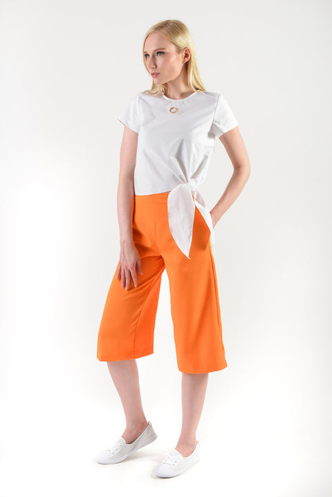 Cheerful Culotte(57796) - Orange