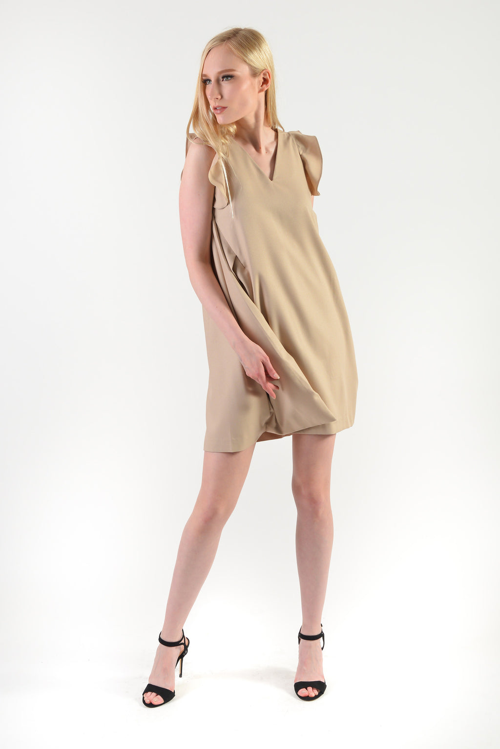 Masumi Dress(77771) - Beige