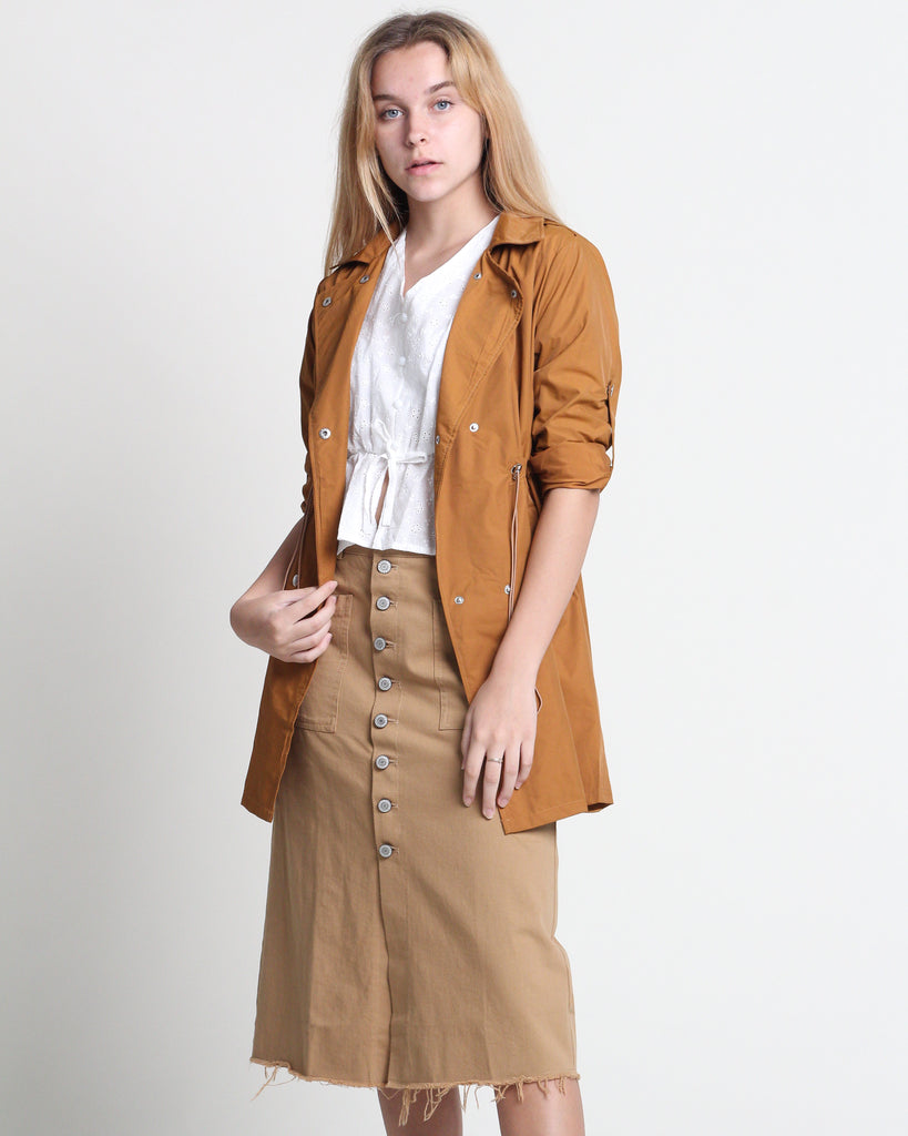 Xu Trench Jacket Tan (28425)