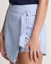 Li Li Checks Skort Blue (58406)