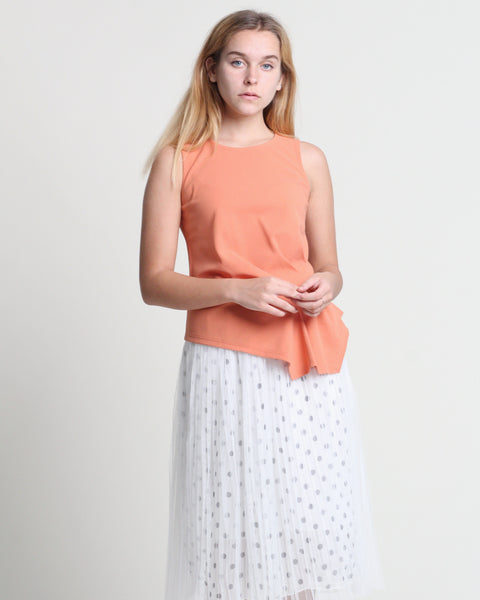 Dotty Skirt White (38451)