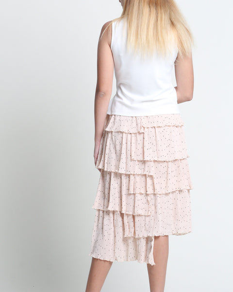 Softie Layer Skirt Beige (38452)