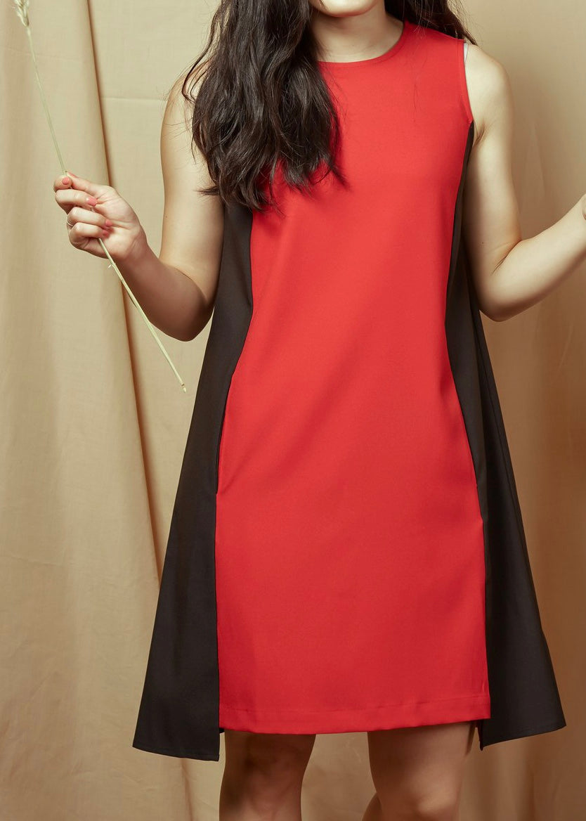 En En Sleeveless Dress Red(78455)