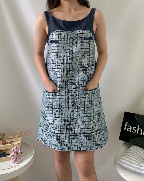 Kimi Tweed Sleeveless Dress (77706)