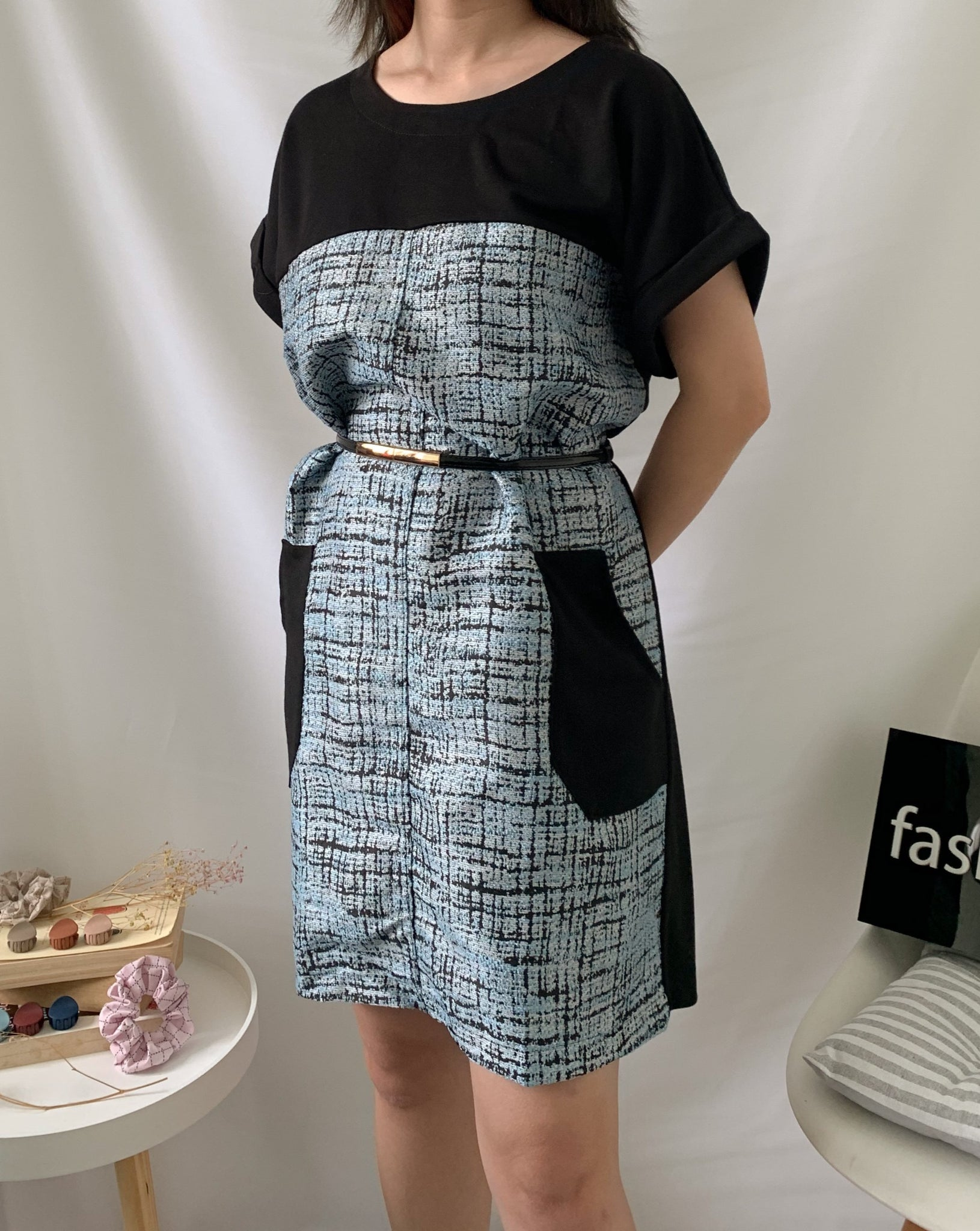 Kimi Tweed Dress (77706)