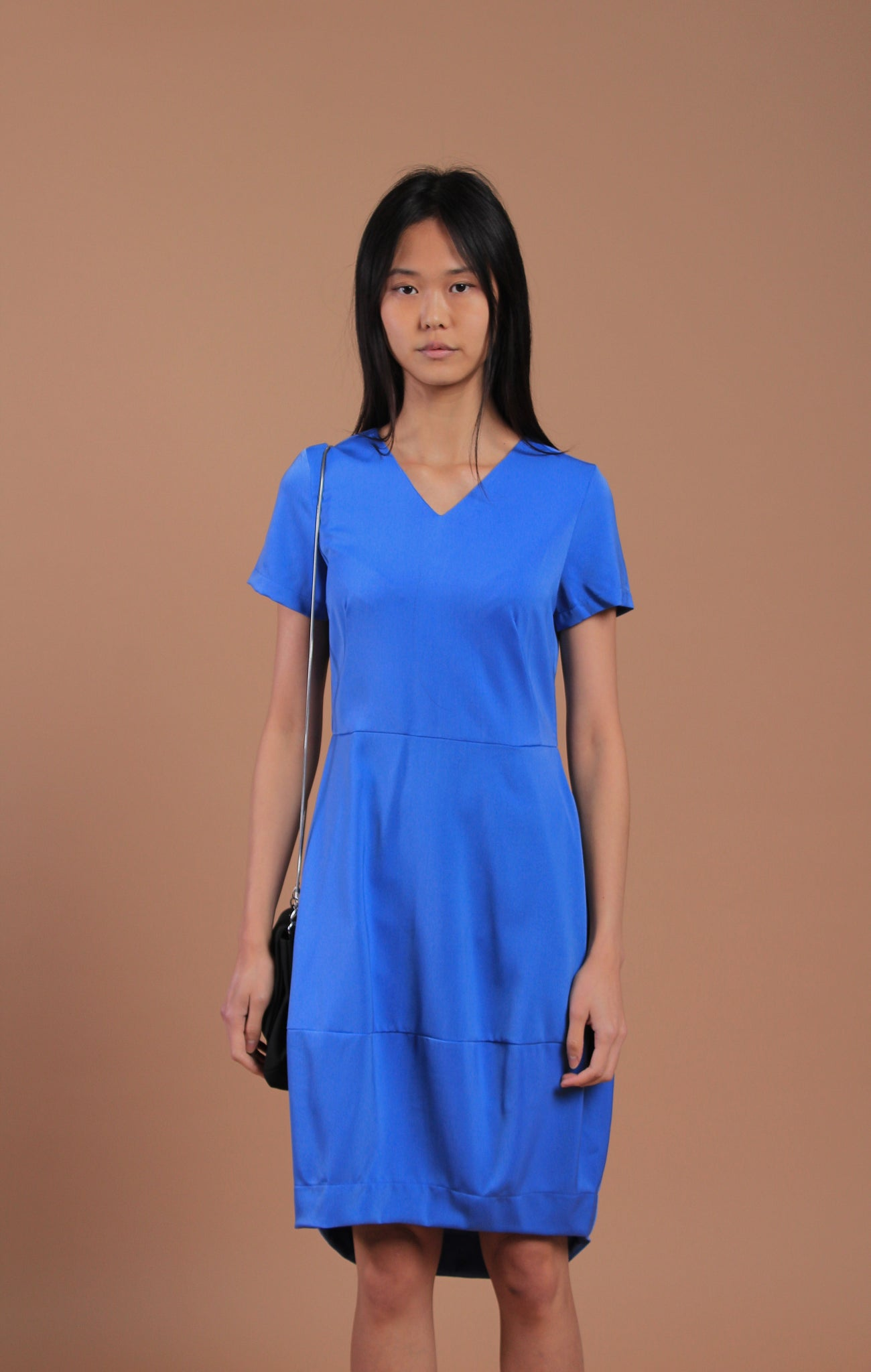 Irish Cocoon Dress Blue (78070)