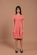 Irish Cocoon Dress Pink (78070)