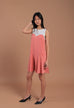 Iris Sleeveless Dress Pink (78068)