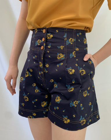 Daisy Printed Short (58361)