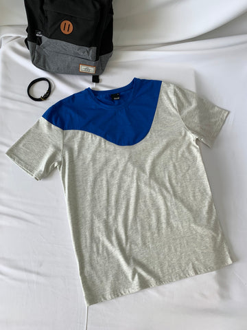 Kabuto Round Neck Tees Blue (41327)