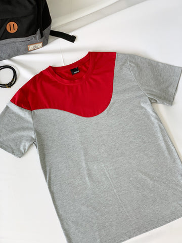 Kabuto Round Neck Tees Red (41327)