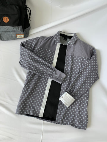 Kitsune Long Sleeve Dots Grey (61304)