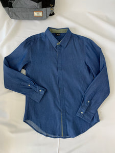 Kabo Long Sleeve Shirt Blue (61373)