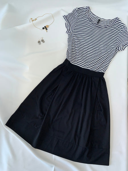 Misaki Joint Dress Navy (78168)