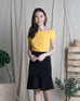 Maddy Off-Shoulder Top Yellow (18245)