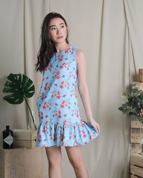 Sakura Dress Blue (78252)