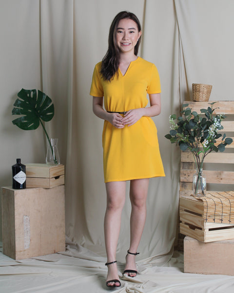 Maddy Dress Yellow (78246)
