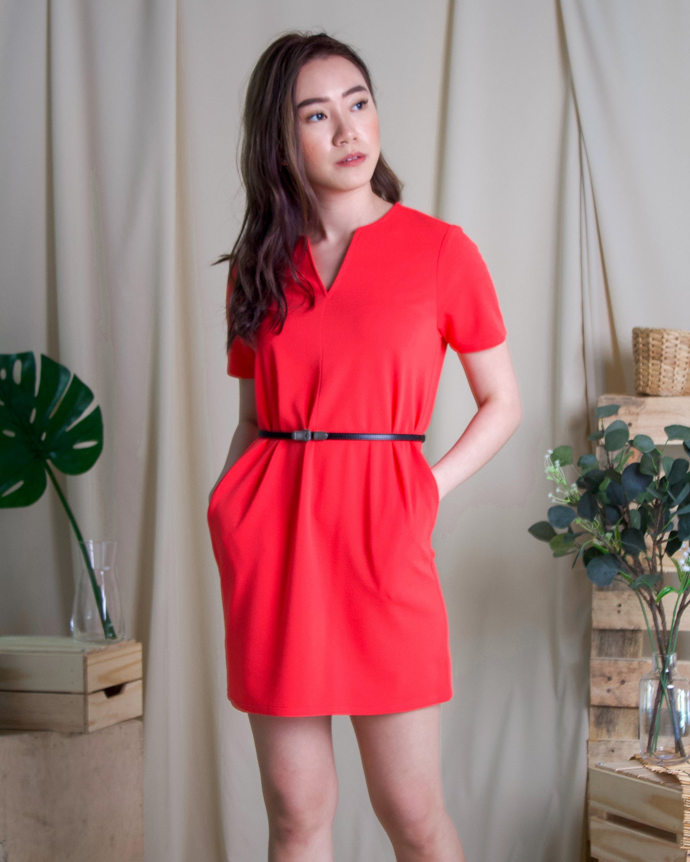 Maddy Dress Coral (78246)